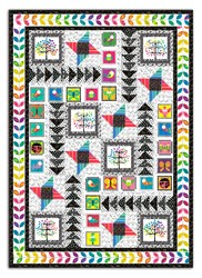 Sweet Tweets Quilt Pattern - Features Sweet Tweets Fabric by Andover