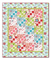 Salt Water Taffy Burst Quilt Pattern Download
