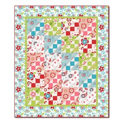 Salt Water Taffy Burst Quilt Kit