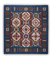 New!   Tapestry Block of the Month or All at Once <br>by Wing and a Prayer Designs - Starts April!