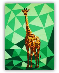 Jungle Abstractions: The Giraffe Quilt Kit