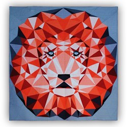 Jungle Abstractions: The Lion Quilt Kit