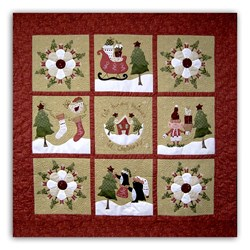 This House Believes in Christmas All At Once Quilt Kit