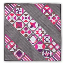 Full Bloom Batik Quilt Kit Bom Or All At Once Start