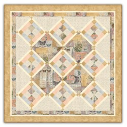 "Back in Stock!  - Exclusive ""Vienna Muscial Garden"" Table Topper Kit"