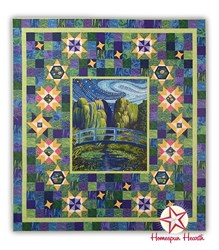 Water Reflections; Bridge Block of the Month by Ira Kennedy - Start Anytime!
