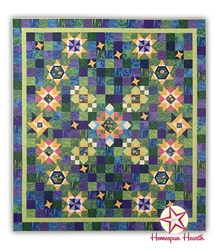 Water Reflections Medallion Block of the Month by Ira Kennedy - Starts November!