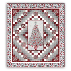 Winter Elegance Quilt Kit with Optional Swarovski Hotfix Crystals!