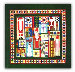 Winter Memories BATIKS PiecedBlock of the Month or All at Once<br>Starts in November