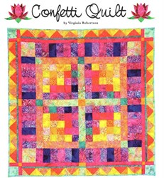 LAST ONE!  Confetti Quilt Kit