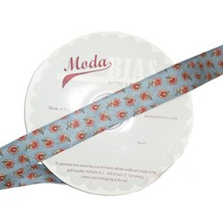 Vintage Find!  Moda Bias Binding -Garden Magic - Blue