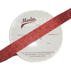 Vintage Find!  Moda Bias Binding - Vienna Nights - Rouge