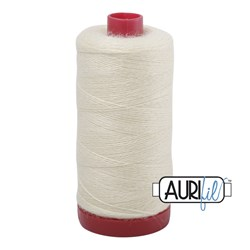Aurifil #8870 - Off White Wool Lana Thread 12wt