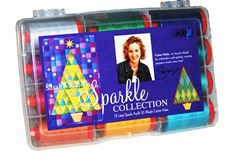 Sarah Vedelers Sparkle Aurifil Thread Collection