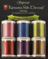 Last One!  Kimono Silk Thread Spring Collection - 6 Pack