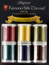 Last One! Kimono Silk Thread Summer Collection - 6 Pack