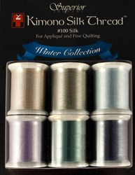 Last One!  Kimono Silk Thread Winter Collection - 6 Pack