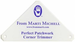Perfect Patchwork Corner Trimmer Template - Marti Michell Ruler