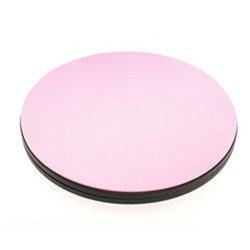 "NEW!  10"" Pink Rotating Cutting Mat"