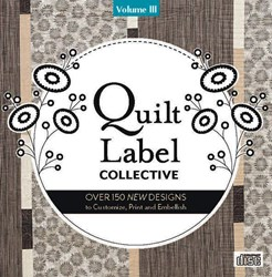 Quilt Label Collective CD - Volume III