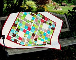 Last One!  Cotton Pickin' Charm Square Friend Pattern