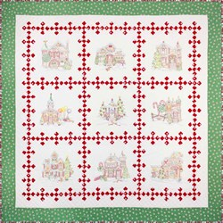 Gingerbread Square Pattern by Crabapple Hill
