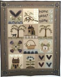 Last One!  Heart & Home Quilt Pattern Pack
