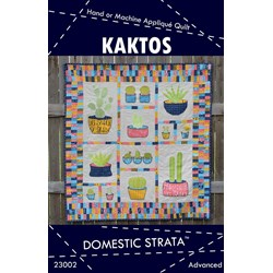 Last One!  Kaktos Applique Quilt Pattern