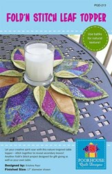 Fold'n Stictch Leaf Topper Pattern