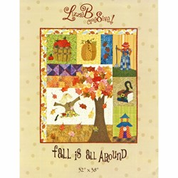 Fall is All Around Pattern by LizzieB Crea8ive