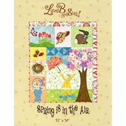 Spring is in the Air  Pattern by LizzieB Crea8ive