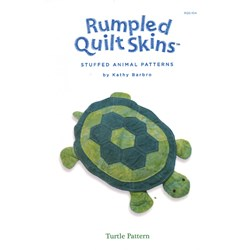 Rumpled Quilt Skins Turtle Pattern by Kath Barbro