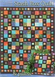 Stash Box Quilt & Pillow Pattern