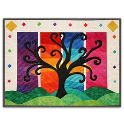 Pin It Up Wall Hanging -  January - Sunrise through the Seasons!