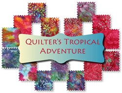 Monthly Batik Fat Quarter Frolic Club<br><i>Start Any Time!</i>