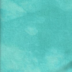 "Aquamarine Sea - Large 16"" x 25""  - 100% Hand Dyed Wool"