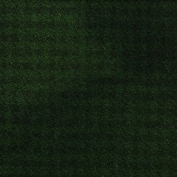Green & Black Houndstooth Hand Dyed Wool Fat Quarter
