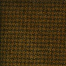 Pumpkin Houndstooth Hand Dyed Wool Fat Sixteenth