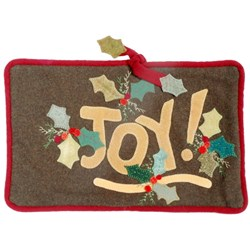 Joy! Wool Applique Pillow Kit