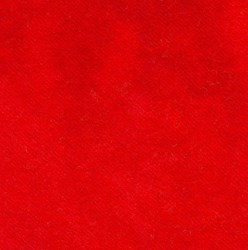 Limited Edition - Salsa Red Hand Dyed Wool Fat Quarter