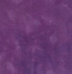 Violet Hand Dyed Wool Fat Quarter