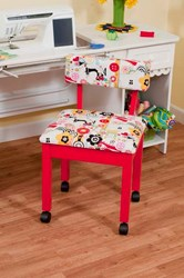 Red Sewing Chair 3000