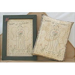 Vintage Find!  Keeper of the Garden Sampler Pillows