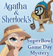 "Agatha & Sherlocks ""Mystery in Phoenix"" Superbowl Sunday Mystery &  Optional Fabric Pack"
