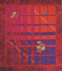 Batik Lovers - Hibiscus Garden Quilt Kit