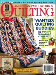American Patchwork & Quilting March 2016 - Issue 139