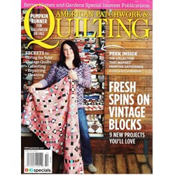 American Patchwork & Quilting October 2016 - Issue 142