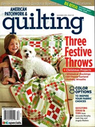 American Patchwork & Quilting December 2016 - Issue 143