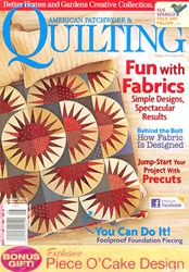 American Patchwork & Quilting August  2010