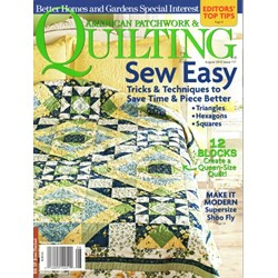 American Patchwork & Quilting August 2012 - Issue 117